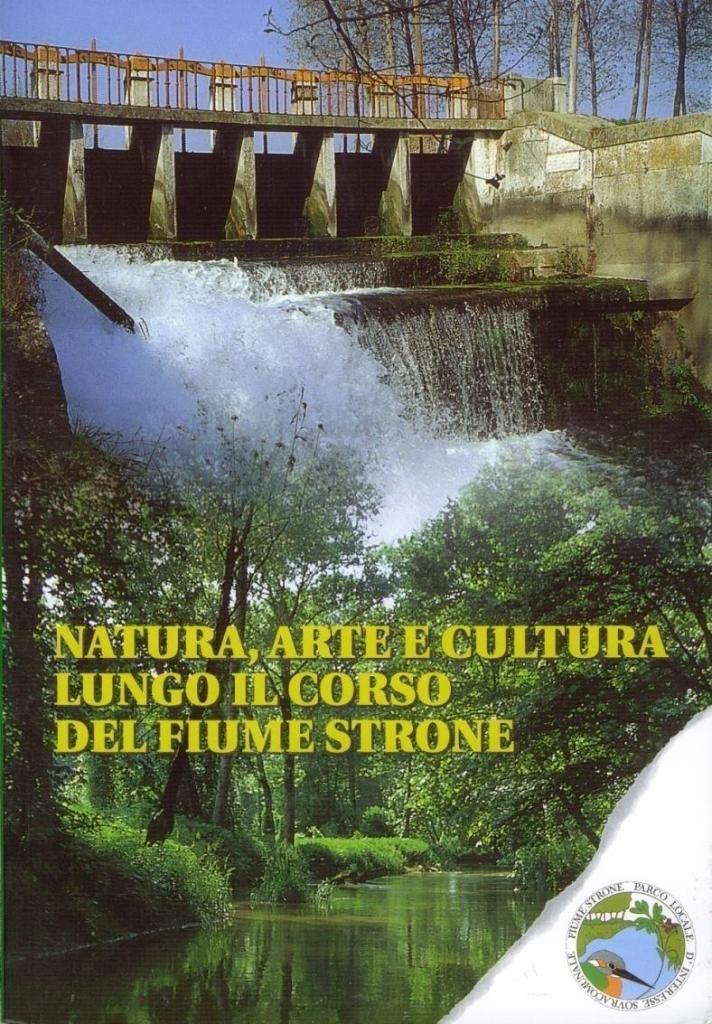 Copertina del libro sul Parco fiume Strone