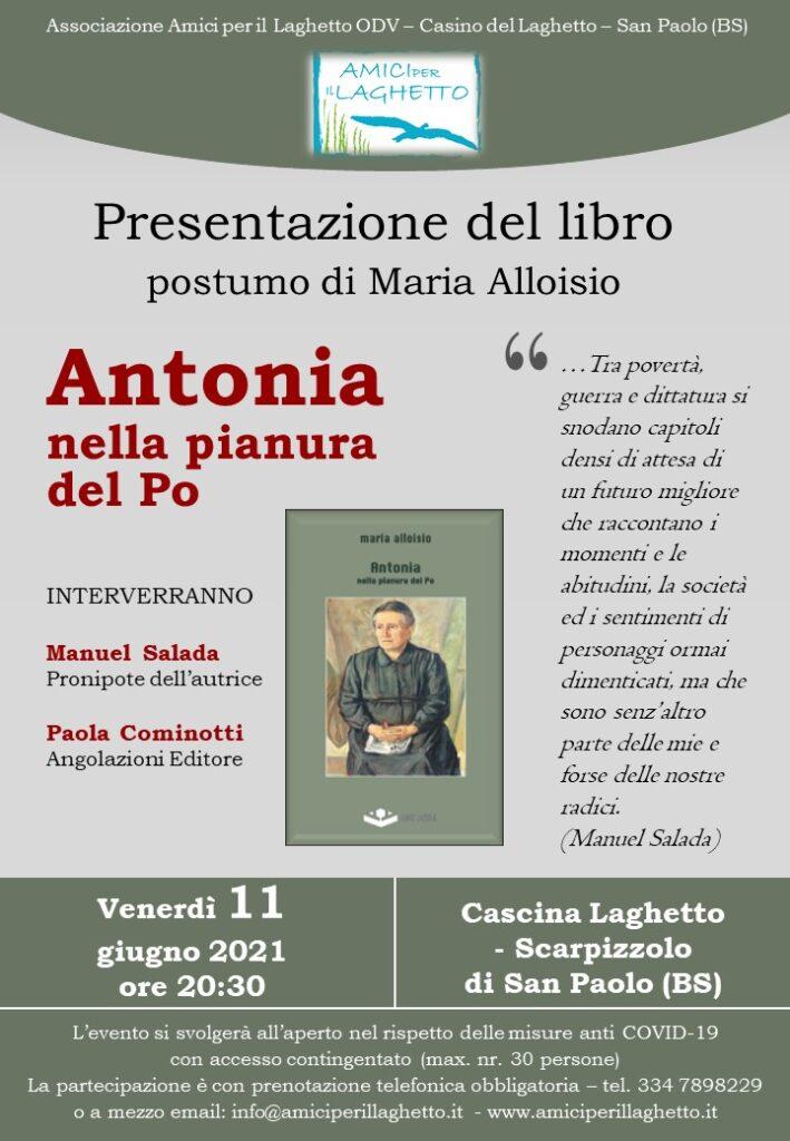 Locandina presentaz. libro Antonia